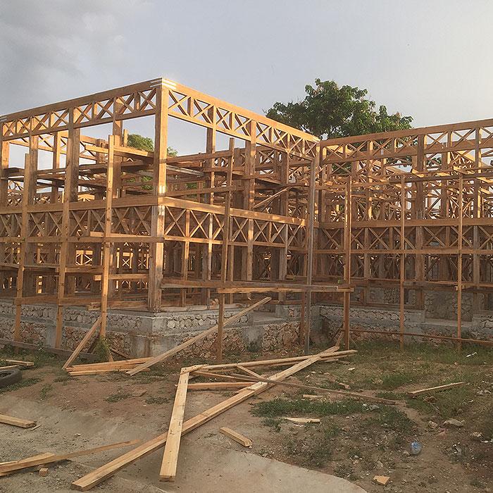 Bauprojekt-Haiti