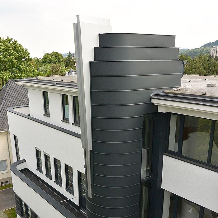 Flachdächer mit Deisgn aus Bonn