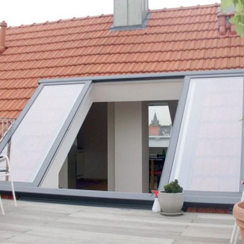 Tür-zum-Dach